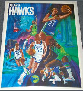 61a6e8b29e3 Image is loading Vintage-ATLANTA-HAWKS-1970-ProMotions-NBA-Basketball-Team-