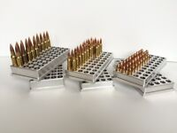 22 Hornet Bullet Reloading Block ( Cnc Machined Aluminum )