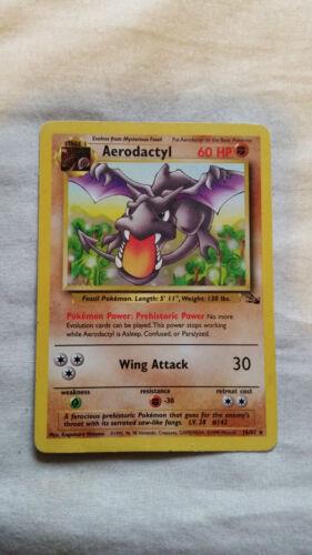Pokemon Fossil Set Cards Make your selection 90/'s Original