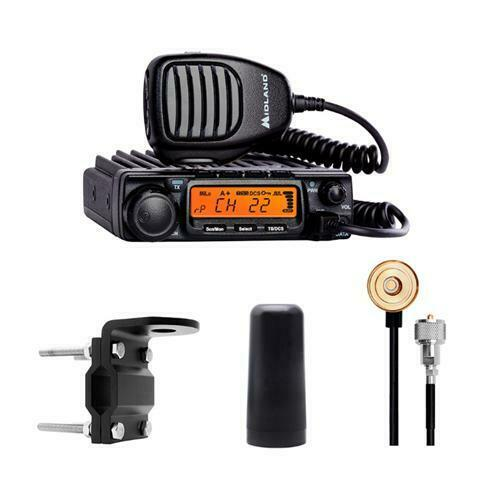 Midland Authorized Reseller MXT400VP3, 6db, 40W Two Way Radio Bundle. Buy it now for 299.98