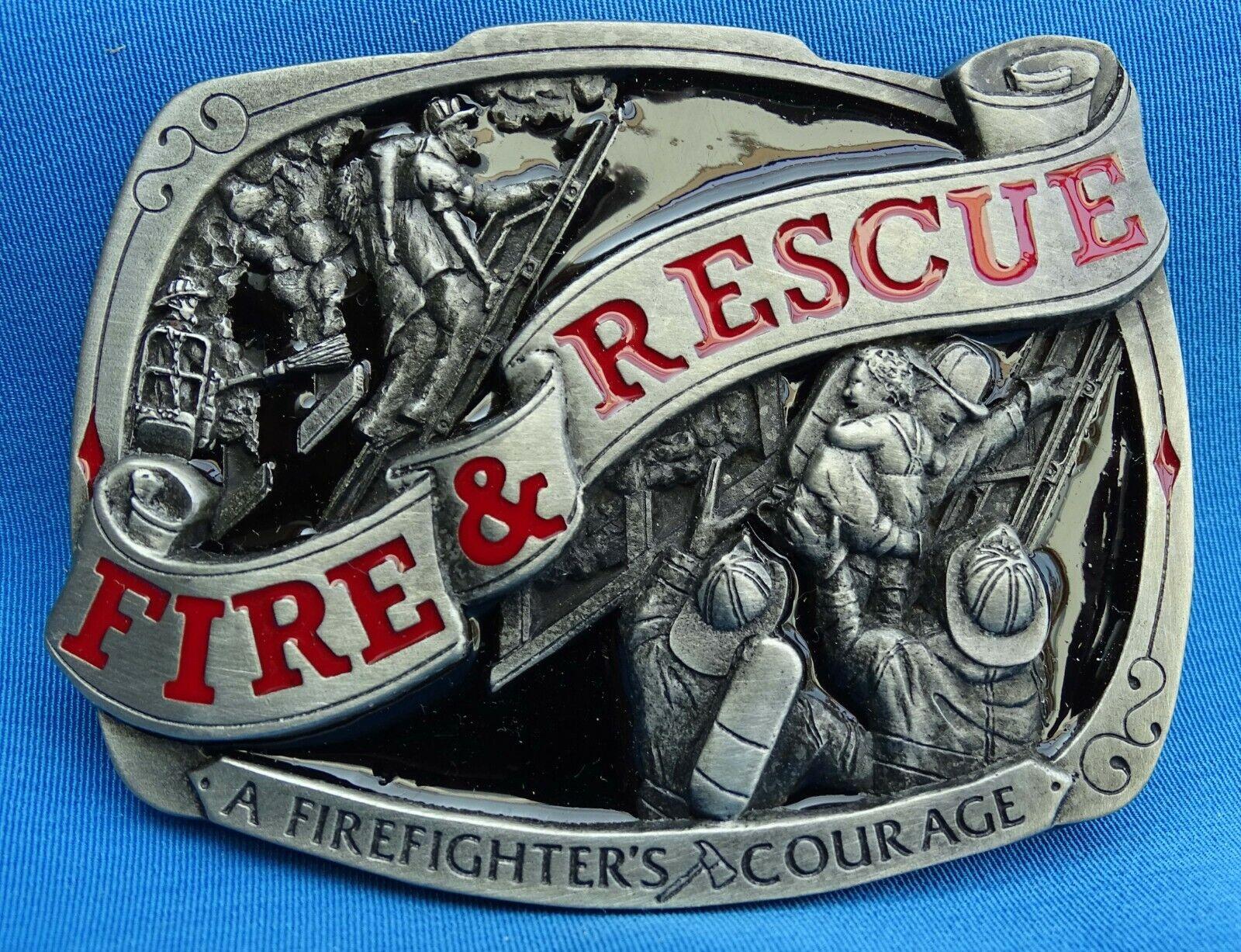Buckle Fire & Rescue Limitierte Gürtelschnalle Feuerwehr