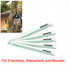 Sägeblätter für Säbelsäge KRESS 1200 SPE 5 Stück Frischholz Grünschnitt Wurzeln