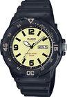 Casio MRW200H-5BV, Analog Watch, Black Resin Band, Day/Date, 100 Meter WR