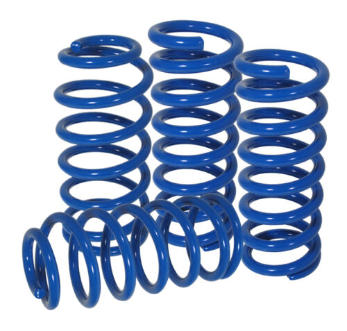 Fit 1995-1999 Mitsubishi Eclipse//1995-1998 Eagle Talon Suspension Lowering Spring Red Front -1.5 // Rear -1.25 Drop