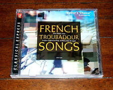 CD Paul Hiller and Andrew Lawrence-King - French Troubadour Songs 1996 Import