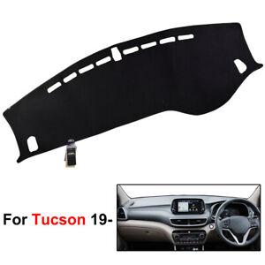 Dash-Cover-Mat-For-Hyundai-Tucson-2019-Dashmat-Dashboard-Cover-Black