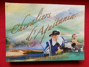 CHEVALIERS D'AQUITANIA Collection Chevaliers des Confréries + CD Vin Gastronomie