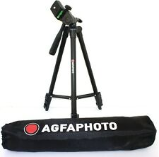 "AGFAPHOTO 50"" Pro Tripod With Case For Panasonic HDC-HS80K HDC-TM80K"