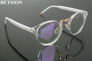 8209cb1d6191 Image is loading Vintage-Clear-White-Transparent-Reading-Glasses-Men-Women-