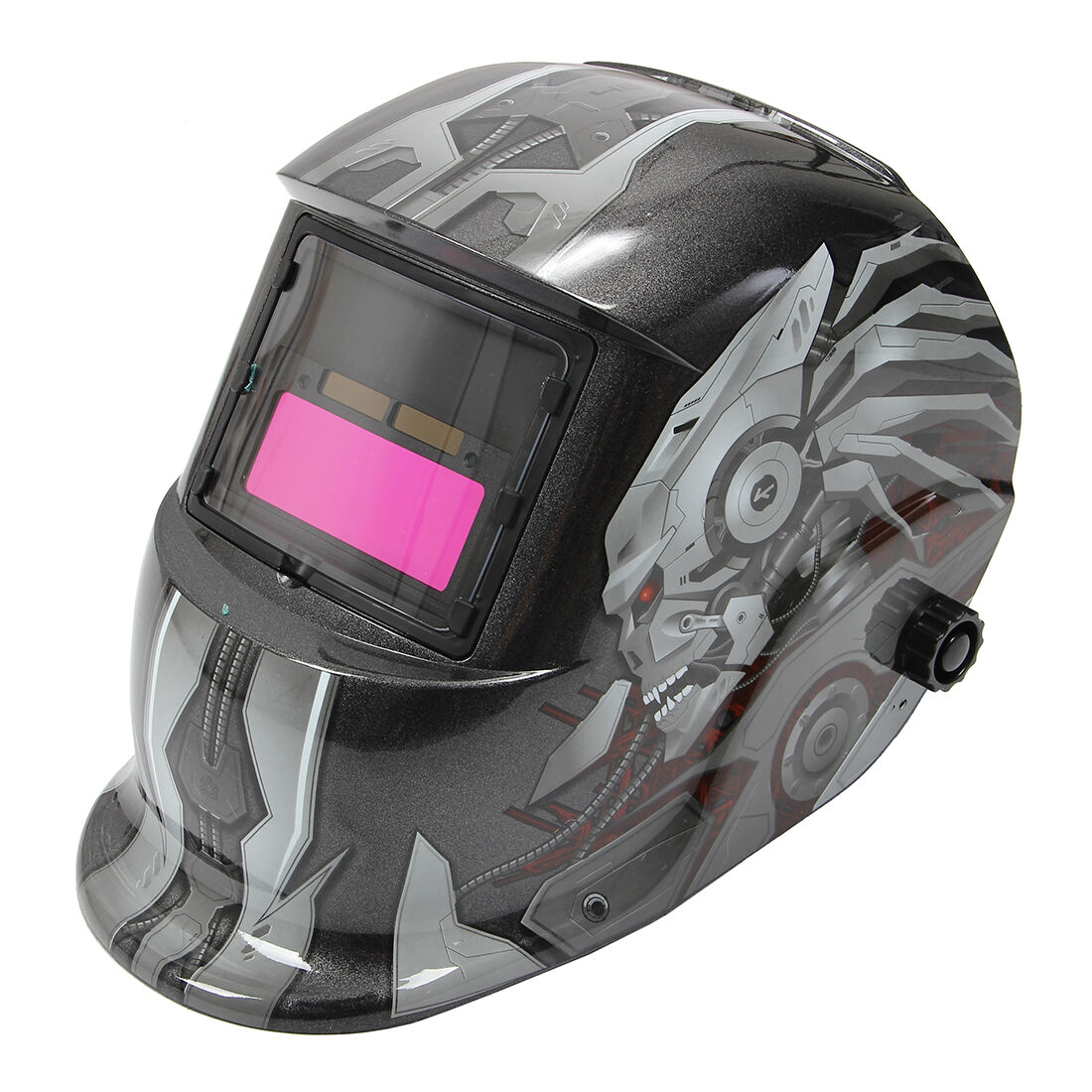 Pro Solar Auto-Darkening Welding Helmet Lens Mask Grinding Welder Mask BITS