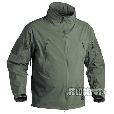 Verantwortlich Helikon Tex Trooper Jacket Soft Shell Alpha Green Outdoor Jacke Tropf-Trocken