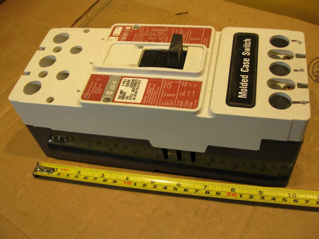 Cutler Hammer JD3250K Molded Case Switch 250A 600VAC 3Pole Westinghouse