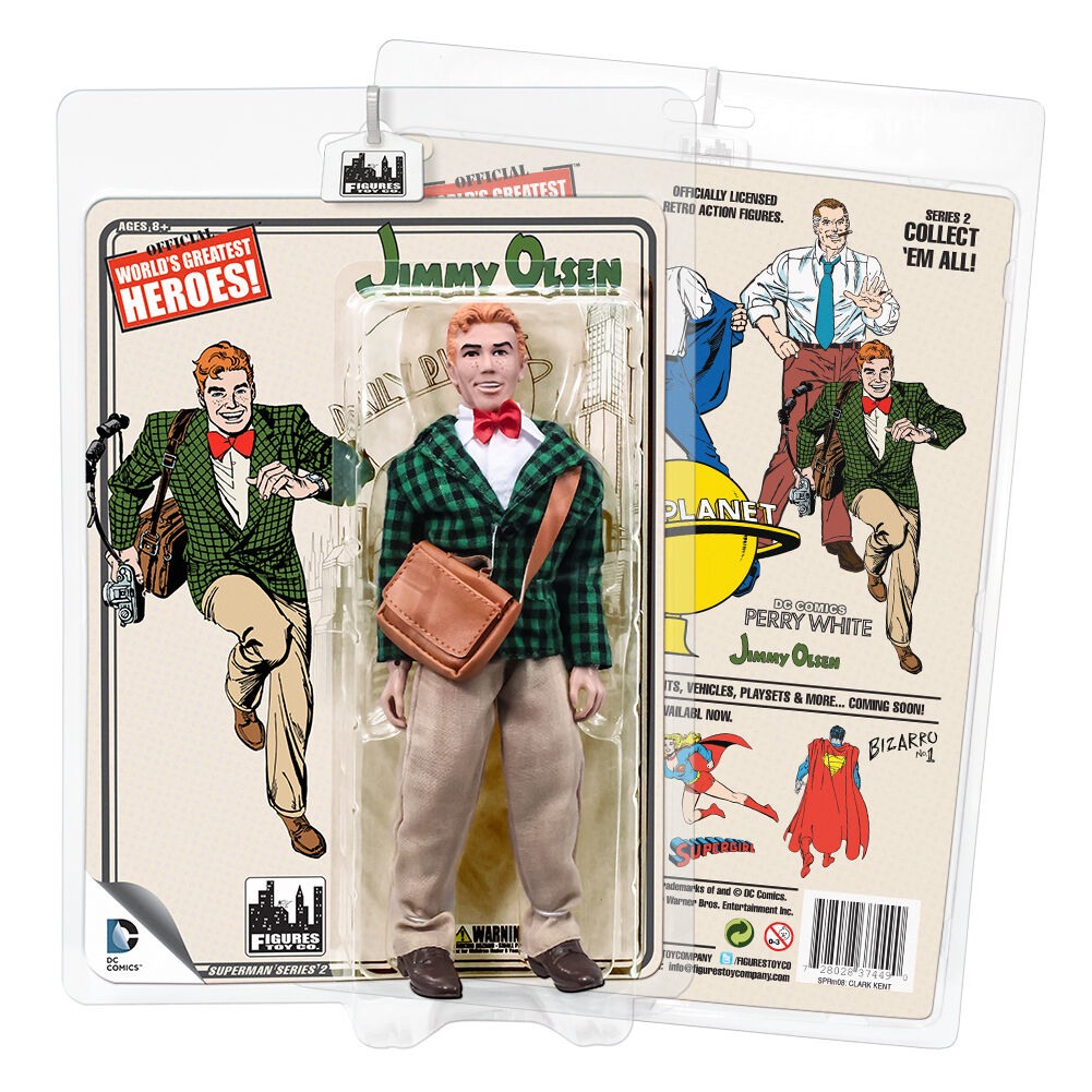 DC Comics Superman Retro Style Action Action Action Figures Series 2  Jimmy Olsen by FTC 119ff0