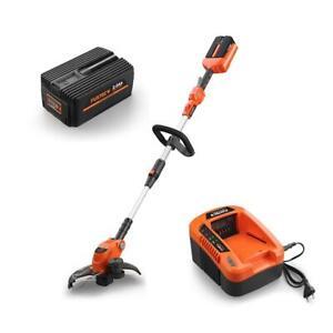 Débroussailleuse batterie 40 V FUXTEC E312D / set avec batterie et chargeur