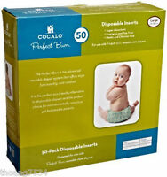 1 Box Cocalo Perfect Bum 50 Disposable Inserts Baby Diapers L Large 20-30 Lbs