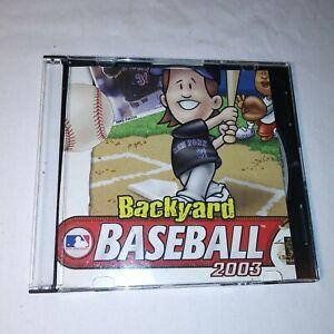 BACKYARD BASEBALL 2003 PC CD-ROM GAME WIN/MAC MIKE PIAZZA ...