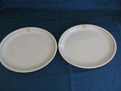 Disney World Dinner Plates Restaurant Ware China Ears Logo (Set of 2) & Disney restaurantware dishes restaurant china collection on eBay!