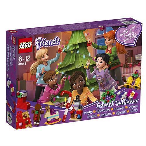 LEGO Baukästen & Sets Lego 41353 Friends Adventskalender mit Weihnachtsschmuck