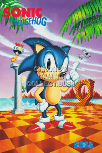 RGC Huge Poster Sonic the Hedgehog Sega Genesis CD SON006