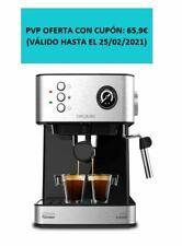 Cecotec Cafetera Express Power Espresso Professionale para Espresso y Capuccino,