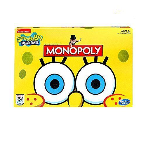 Monopoly Game SpongeBob SquarePants Edition New