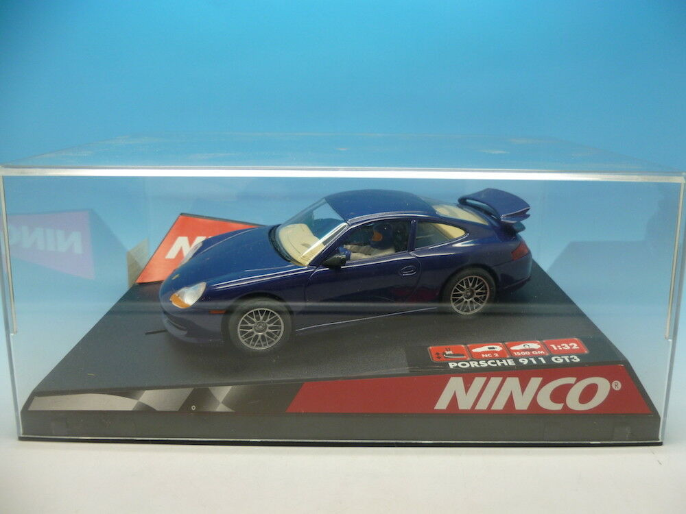 Ninco 50234 Porsche GT3 Road Car bluee, min unused