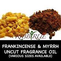 100% Pure Frankincense & Myrrh Fragrance Oil 1oz