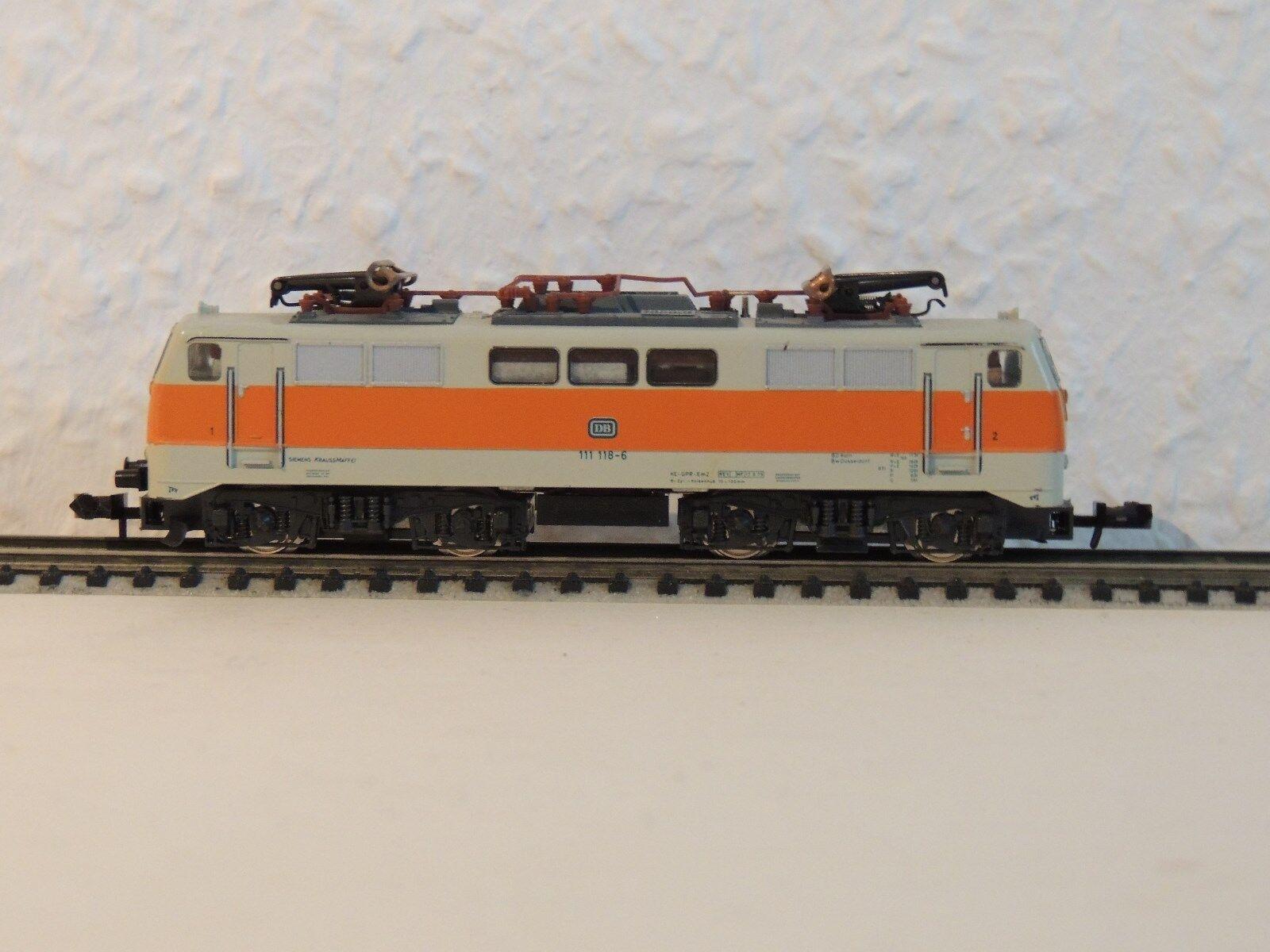 12,23  1 x mt BR 111 Arancione/Grigio, S-Bahn-versione, Lok 111 118-6