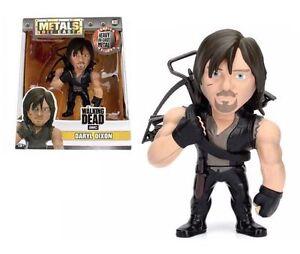 The-Walking-Dead-Daryl-Dixon-4-034-metales-Die-Cast-Figura-Nuevo-Jada-M181