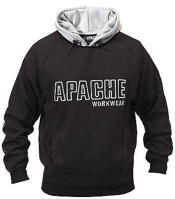 Apache Heavyweight Hooded Top Hoodie Safety Hoody Sweatshirt Sz S-xxl Gutes Renommee Auf Der Ganzen Welt