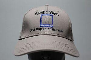 NATIONWIDE-Pacifico-WEST-2012-Region-de-el-ano-Pelota-Ajustable-Gorra