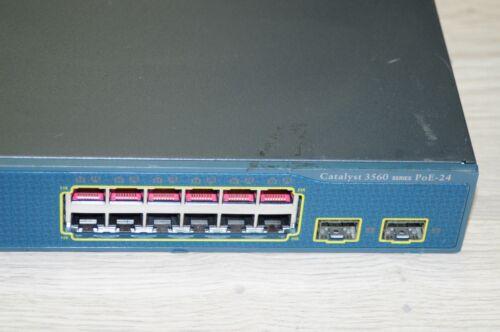 Cisco WS-C3560-24PS-E Layer3 Latest IOS PoE Switch Enhance WS-C3560-24PS-S