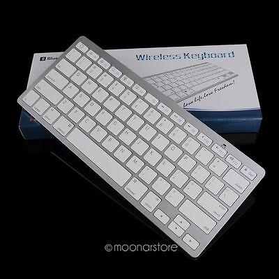 Wireless Bluetooth 3.0 Slim Keyboard For Apple iPad2/3/4 iPhone Mac Tablet PC