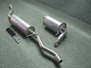 Mittelschalldämpfer Auspuff Mitteltopf VW Sharan 1.9 TDI//2.0 TDI
