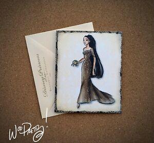 2011-Disney-Designer-Doll-Princess-Note-Card-POCAHONTAS-Steve-Thompson-Art