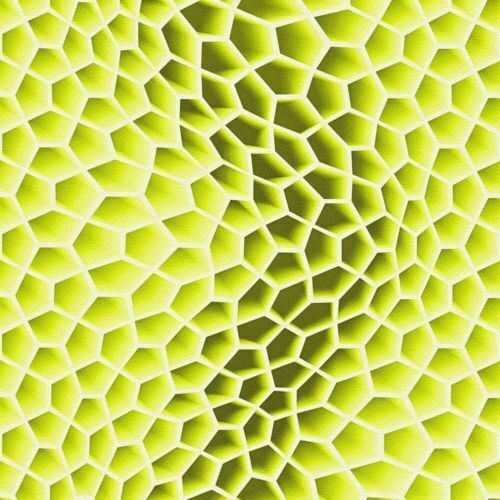 Lime Green 3D Retro Wallpaper Funky Geometric Paste The Wall Textured Vinyl