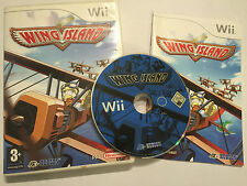 NINTENDO Wii GAME WING ISLAND +BOX INSTRUCTIONS / COMPLETE PAL