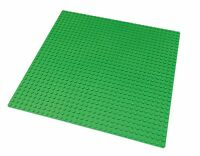 Green Baseplate Compatible With Lego 10x10 Inch 32x32 Studs Base Plate 3811