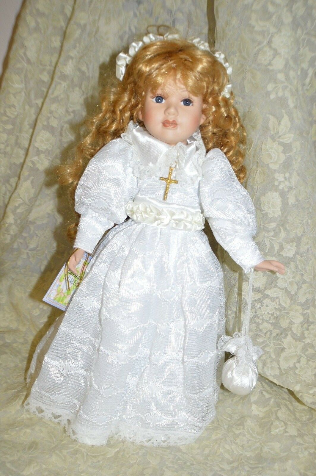 Cathay Collection Porcelain Doll 16  1 5000 American Artist Collection