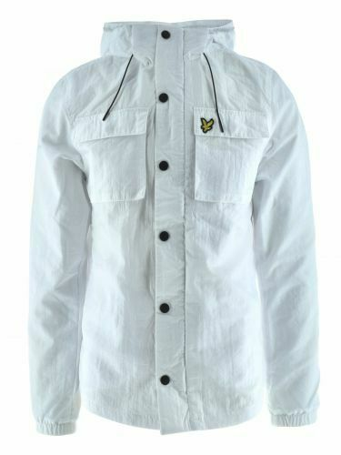 Lyle /& Scott White Lightweight Pocket Jacket