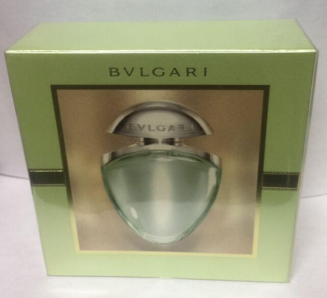 BVLGARI OMNIA GREEN JADE 25 ml/0.84 oz EDT SPRAY NEW Satin Pouch DISCONTINUED.