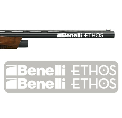 Gun Safe Gun Case 2x Benelli ETHOS Vinyl Decal Sticker for Barrel Shotgun