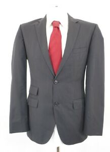 HUGO BOSS Anzug The Sweet1 Sharp1 Gr.48 schwarz uni Einreiher 2-Knopf -C11