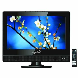 Supersonic-13-3-Inch-1080p-Widescreen-HDTV-w-Remote-HDMI-AC-DC-Compatible