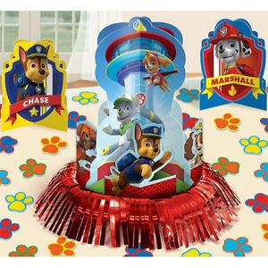 Das Bild Wird Geladen 23pc Paw Patrol Tischdekoration Kit Jungen Geburtstag Party