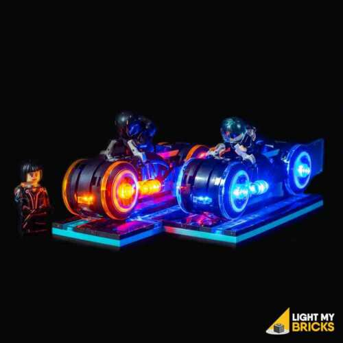 LIGHT MY BRICKS - LED Light kit for LEGO TRON Legacy set 21314 Lego Lights