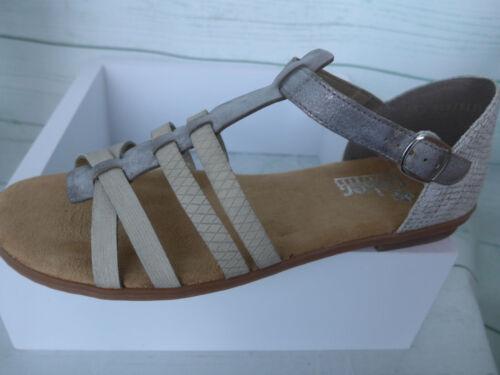 Rieker Sandale Sandalette Pantolette Damen Gr 633 39 bis 43 NEU