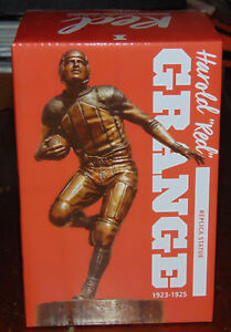 Harold-034-Red-034-Grange-University-of-Illinois-Replica-Statue-New-in-Box