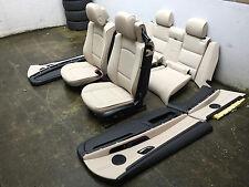 Inkl UMBAU BMW E93 LCI Cabrio Oyster weis Lederausstattung Ausstattung Leder