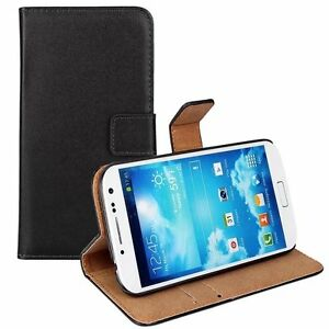 Black-Flip-Leather-Stand-Wallet-Mobile-Phone-Case-Cover-For-Samsung-Galaxy-Model